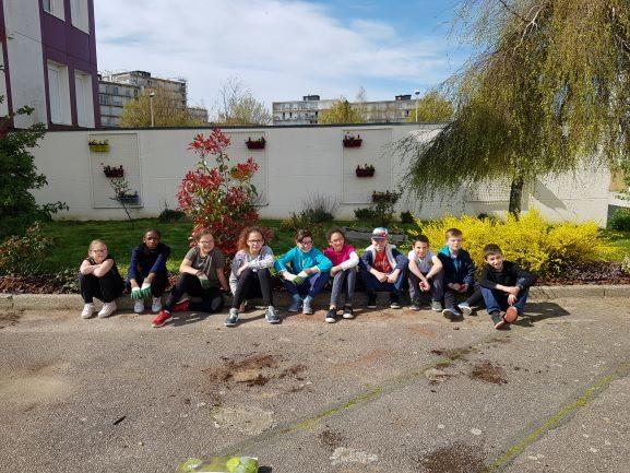 Un groupe d'élève du réseau Wallon très motivés !!